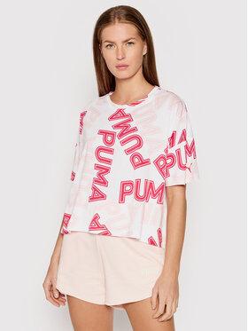 Puma Puma Футболка Modern Sports Fashion 581238 Білий Relaxed Fit
