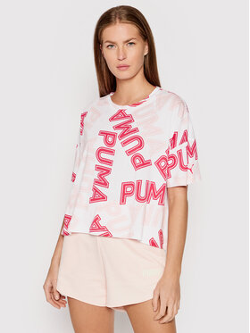 Puma Puma T-shirt Modern Sports Fashion 581238 Bianco Relaxed Fit