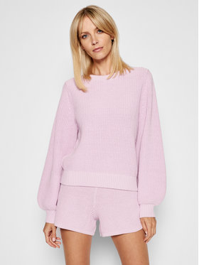 Seafolly Seafolly Пуловер North Coast Chunky Knit 54482-KN Виолетов Relaxed Fit