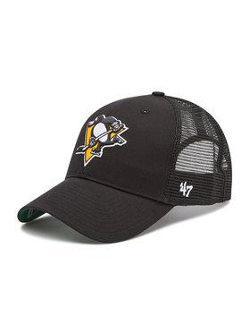 47 Brand 47 Brand Șapcă Pittsburgh Penguins Cap H-BRANS15CTP-BKB Negru