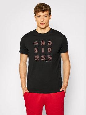 4F 4F T-Shirt H4L21-TSM018 Czarny Regular Fit
