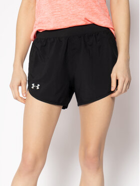 Under Armour Under Armour Αθλητικό σορτς Fly By 2.0 1350196 Μαύρο Loose Fit