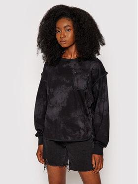 Converse Converse Sweatshirt Vented 10021452-A02 Noir Oversize