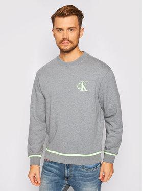 Calvin Klein Jeans Calvin Klein Jeans Mikina J30J315597 Šedá Regular Fit