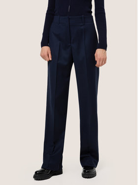 Hugo Hugo Pantalon en tissu Hulana 50439823 Bleu marine Regular Fit