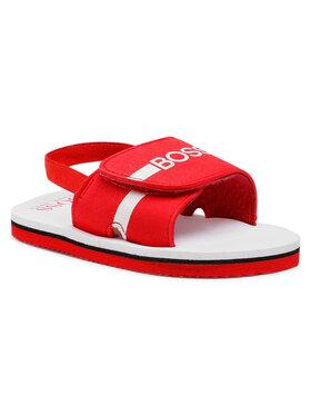 Boss Sandále J09143 Červená