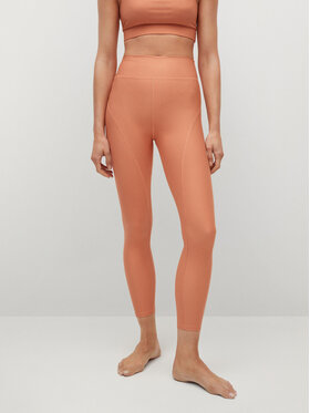 Mango Mango Leggings Yves 17050060 Narancssárga Slim Fit
