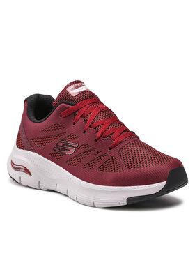 Skechers Skechers Sneakersy Charge Back 232042/BURG Bordowy