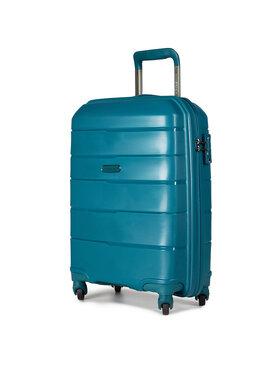 Puccini Puccini Kis kemény borítású bőrönd Bahamas PP016C 5A Zöld