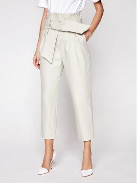 IRO IRO Pantalon en tissu Ritokie A0035 Gris Regular Fit