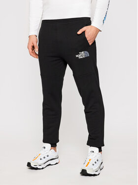 The North Face The North Face Παντελόνι φόρμας Cot NF0A4CE4JK31 Μαύρο Regular Fit
