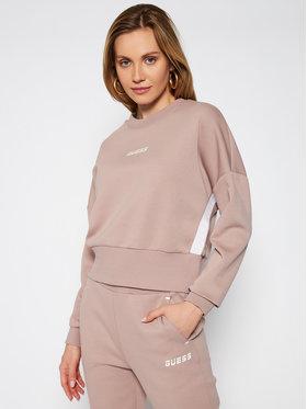 Guess Guess Sweatshirt Logo Tape O0BA25 KA3P1 Braun Comfort Fit