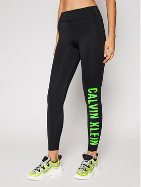 Calvin Klein Performance Calvin Klein Performance Leggings Full Lenght 00GWF0L637 Fekete Slim Fit