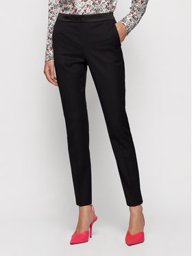 Boss Boss Spodnie materiałowe Taxtiny 50441976 Czarny Regular Fit