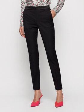 Boss Boss Текстилни панталони Taxtiny 50441976 Черен Regular Fit