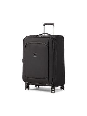 Delsey Delsey Közepes szövetborítású bőrönd Montmartre Air 2.0 00235281900 Fekete