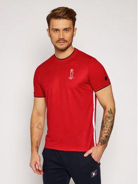 North Sails North Sails T-Shirt PRADA Winton 452014 Κόκκινο Regular Fit
