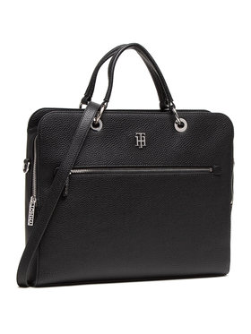 Tommy Hilfiger Tommy Hilfiger Laptoptasche Th Essence Computer Bag AW0AW08852 Schwarz