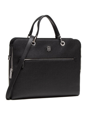 Tommy Hilfiger Tommy Hilfiger Laptoptáska Th Essence Computer Bag AW0AW08852 Fekete