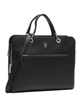 Tommy Hilfiger Tommy Hilfiger Τσάντα για laptop Th Essence Computer Bag AW0AW08852 Μαύρο