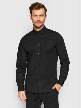Selected Homme Selected Homme Chemise Michigan 16073122 Noir Slim Fit