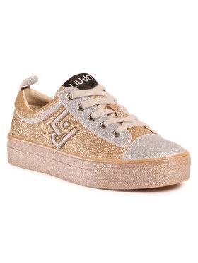 Liu Jo Liu Jo Sneakersy Alicia 147 4F0709 TX007 Złoty