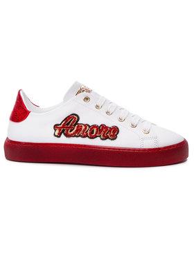 Stokton Sneakersy 764-D Biela