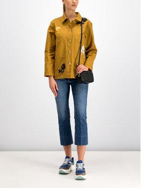 Tory Burch Tory Burch Kurtka jeansowa 55597 Żółty Regular Fit