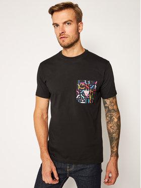Guess Guess T-Shirt F0BI01 JR03D Czarny Regular Fit