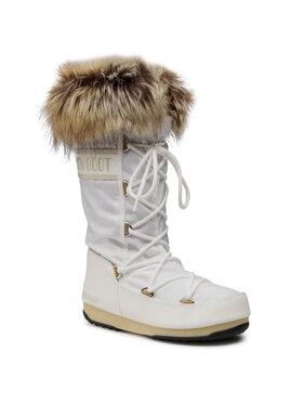 Moon Boot Moon Boot Μπότες Χιονιού Monaco Wp 2 24008700 Λευκό