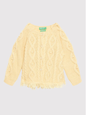 United Colors Of Benetton United Colors Of Benetton Ζακέτα 1276C5452 Μπεζ Regular Fit