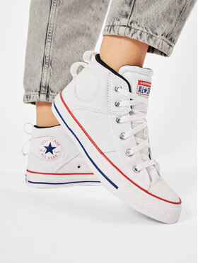 Converse Converse Sneakers aus Stoff Ctas Cs Mid 166970C Weiß