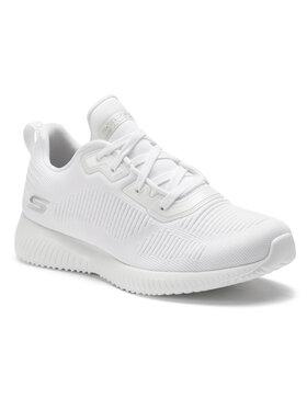 Skechers Skechers Buty BOBS SPORT Tough Talk 32504/WHT Biały