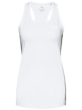 adidas adidas Top Design 2 Move 3-Stripes DU2057 Bílá Slim Fit