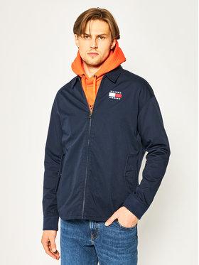 Tommy Jeans Tommy Jeans Jeansová bunda Casual Cotton Jacket DM0DM07791 Tmavomodrá Regular Fit