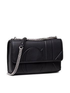 Calvin Klein Jeans Calvin Klein Jeans Handtasche Ew Flap Convertible K60K608224 Schwarz