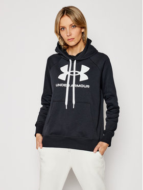 Under Armour Under Armour Суитшърт Ua Rival Fleece Logo 1356318 Черен Loose Fit