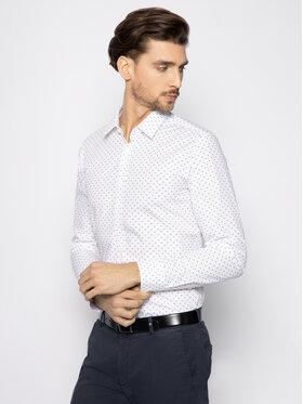 Hugo Hugo Košile Elisha02 50425883 Bílá Extra Slim Fit