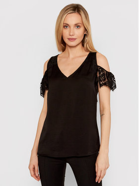 Guess Guess Blusa W1GH85 W5OC2 Nero Regular Fit