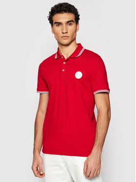 Roy Robson Roy Robson Polohemd 4809-90 Rot Regular Fit