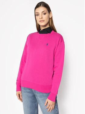 Polo Ralph Lauren Polo Ralph Lauren Mikina Fleece 211780304 Růžová Regular Fit