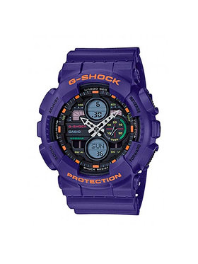 G-Shock G-Shock Ρολόι GA-140-6AER Μωβ