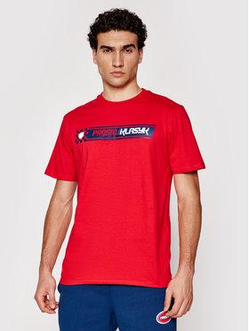 PROSTO. PROSTO. T-shirt KLASYK Last Lap 1023 Rosso Regular Fit
