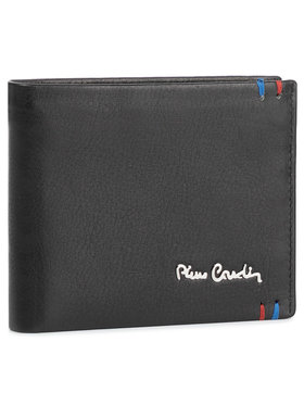 Pierre Cardin Pierre Cardin Голям мъжки портфейл CD TILAK22 8824 Черен