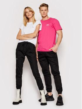 Diamante Wear Diamante Wear Джогъри Unisex Jeans V3 5344 Черен Regular Fit