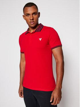 Guess Guess Polo marškinėliai Nolan M0BP66 J1311 Raudona Extra Slim Fit