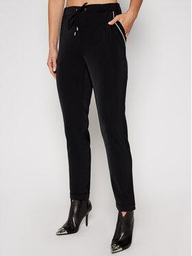 Liu Jo Sport Liu Jo Sport Pantalon en tissu TF0132 T4634 Noir Regular Fit