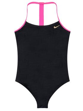 Nike Nike Бански костюм Solid Girl II NESS9629 Черен