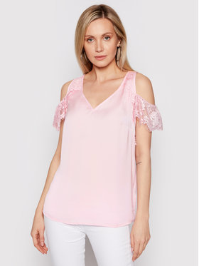 Guess Guess Bluse Mariah W1GH85 W5OC2 Rosa Regular Fit