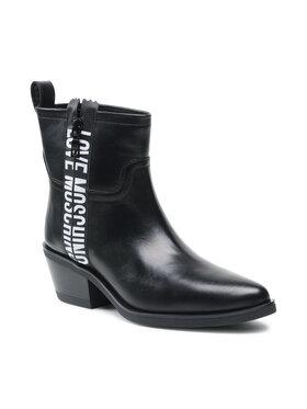 LOVE MOSCHINO LOVE MOSCHINO Členková obuv JA21025G1DIG0000 Čierna